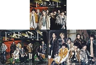 【メーカー特典あり 3タイプセット】 PARADE (初回限定盤1+初回限定盤2+通常盤) (オリジナル・クリアファイル(A4サイズ)付)