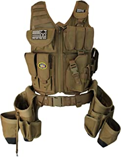 Special Operations Tool Gear Tactical Tool Vest (Coyote Tan)