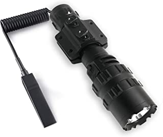 Sponsored Ad - POVAST Tactical Flashlight with Mlok Low Profile Rail Mount, 1200 Lumens LED Hunting Light, Remote Switch T...