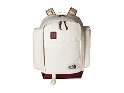 The North Face Ruthsac (Vintage White/Sequoia Red) Day Pack Bags