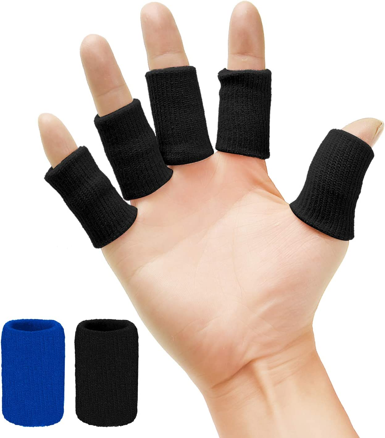 Senkary 20 Pieces Finger Sleeves Thumb Brace Our shop Super special price most popular Protectors Support