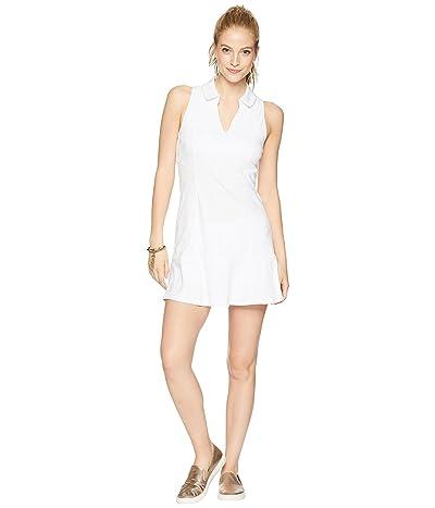 Lilly Pulitzer UPF 50+ Luxletic Martina Tennis Dress (Resort White Perfect Match Jacquard) Women