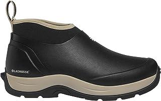 حذاء المطر النسائي Alpha Meadow 3 بوصات أسود اللون من Lacrosse