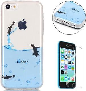8d569a6d731 Compatible For iPhone 5C Silicone Gel Funda Silicona Carcasa Suave TPU  Protectora Cubiertas Alta Calidad Cubierta