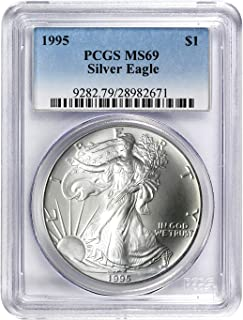 1995 American Silver Eagle ASE $1 MS-69 PCGS