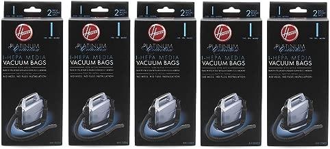 Hoover Type I HEPA Bag , AH10005 (5 Packs of 2: Total 10 bags)