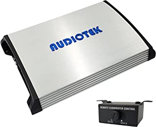 $132 » Audiotek AT7000M 1 Channel Monoblock Class D Car Amplifier - 7000 Watts, 1 Ohm Stable, LED Indicator, Bass Knob Included, ...