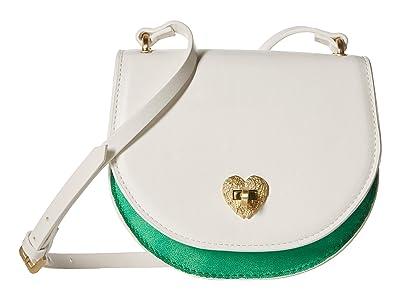 Betsey Johnson Ms. Bright Side Crossbody (White) Cross Body Handbags