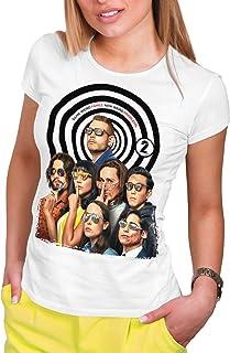 DibuNaif Camiseta Mujer Serie Televisión, The Umbrella Academy