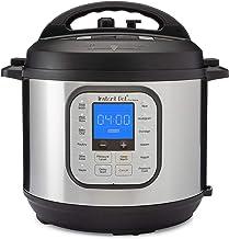 Instant Pot DUO NOVA 6 Qt 7-in-1 Multi-Use Programmable Pressure Cooker, Slow Cooker, Rice Cooker, Steamer, Sauté, Yogurt ...