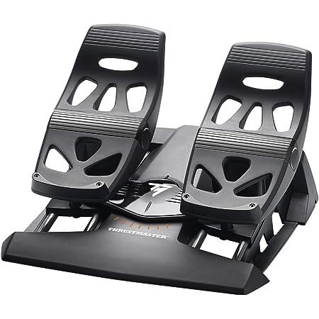スラストマスター Thrustmaster TFRP Flight Rudder Pedals ペダル PC/PS4対応 [並行輸入品]