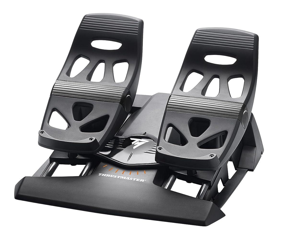 ワードローブ災難完全に乾くスラストマスター Thrustmaster TFRP Flight Rudder Pedals ペダル PC/PS4対応 [並行輸入品]