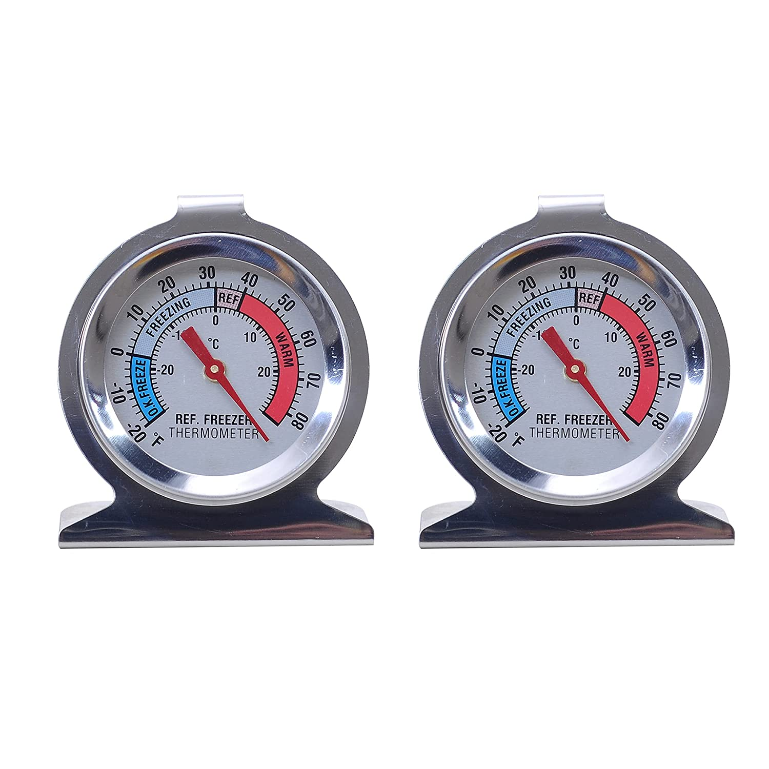 MUXIJIA Refrigerator Thermometer for Home Stainless Fixed price for sale Fridg Steel SEAL limited product