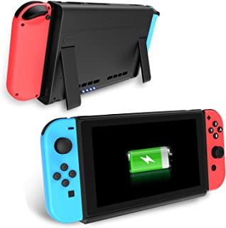 Switch Battery Charger Case, Antank Portable Switch Backup Battery Pack 6500mAh Extended Travel Power Bank for Switch 2017