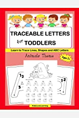Traceable Letters for Toddlers: A Fun Way for Your Child to Learn the Alphabet and Trace Lines, Shapes and Letters Paperback