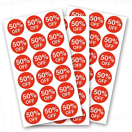 50 x 25mm Simply write on your price market Supplied On A Roll craft Promotional Labels  stickers Ideal for retail Special offer