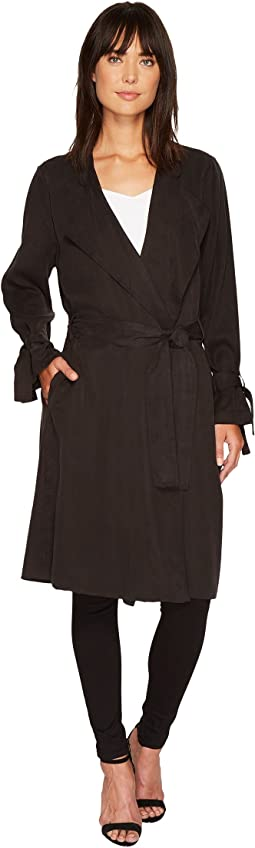 Splendid - Drape Trench Coat