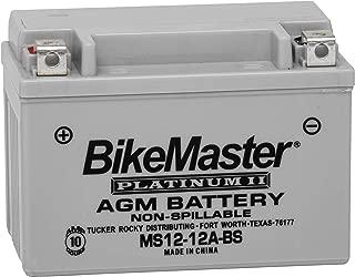 2003 Suzuki TL1000R AGM Platinum II Battery, Manufacturer: BikeMaster, AGM BATTERY MS12-12A-BS BM