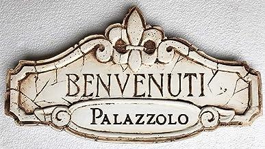 product image for Piazza Pisano Italian Benvenuti Welcome Personalized Sign