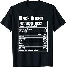 Black Queen Nutrition Facts T-Shirt
