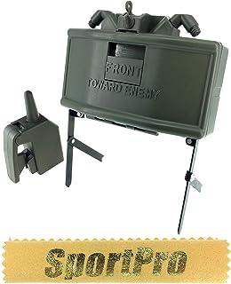 SP製 MR01 6mm BB弾専用 M18A1 クレイモア 地雷/ワイヤレスリモコン付 メタル/プラスチック製 - ゴールド