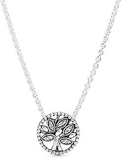 Pandora Women Pandora/397780CZ-45/Necklace/Pendant/Silver, Cubic Zirconia - 397780CZ-45