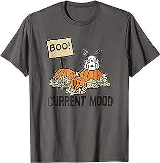 Peanuts Halloween Snoopy Current Mood T-Shirt