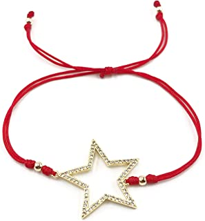 Star Celestial Bracelet Infinity Endless Love Symbol Charm Adjustable red thread Bracelet Gift for Women Girls