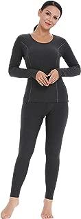 Women's Ultra Soft Thermal Underwear Set Cotton Long Johns Base Layer Fleece Lined S-XXL