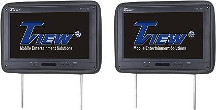 Tview T122PL-BK Car Headrest Monitor, Black