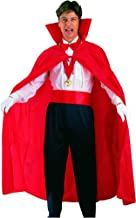 Ciao 62033 Costume Mantello rosso, taglia unica adulto, red