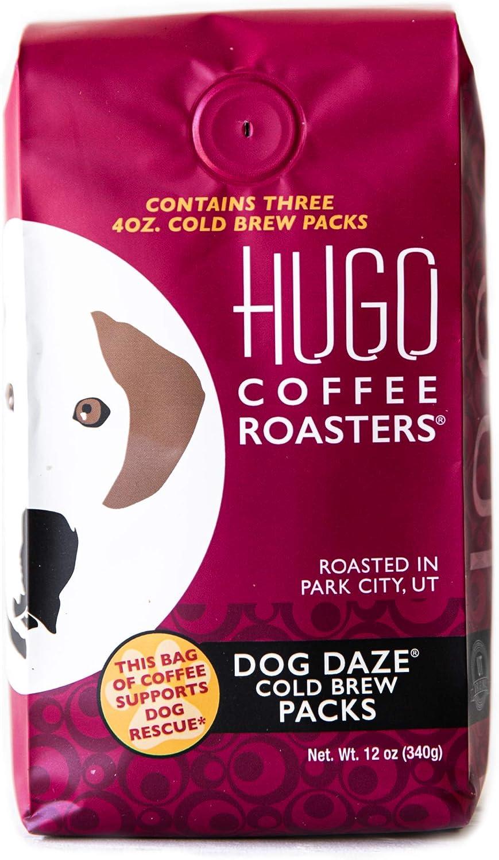 Max 72% OFF Hugo Coffee Dog Excellent Daze Cold 3 Brew Packs Bre Bags