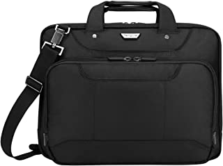 Targus Corporate Traveler Checkpoint-Friendly Traveler Laptop Case for 14-Inch Laptop, Black (CUCT02UA14S)