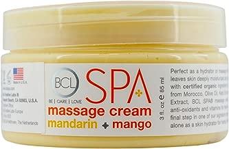 Bio Creative Lab Massage Cream, Mandarin/Mango