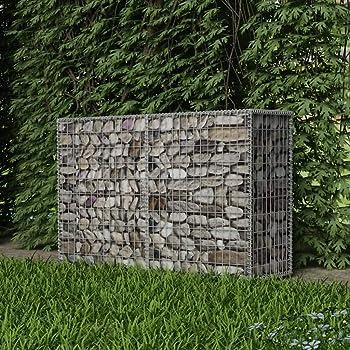 vidaXL Cesta Muro Gaviones Jardín 150x50x100 cm Pared Piedras Malla Metálica: Amazon.es: Bricolaje y herramientas