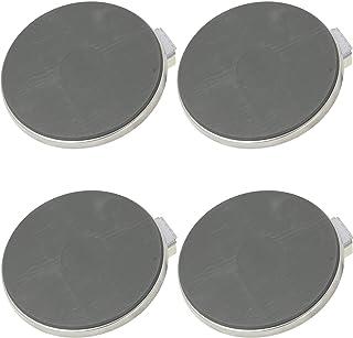 Spares2go - Placa sólida de 1500 W compatible con cocina Ariston (180 mm de diámetro, borde de 8 mm, paquete de 4)
