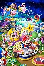 Nintendo Mario Party 9 Video Game Poster