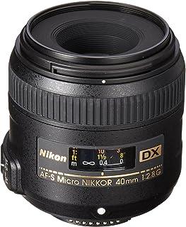 Nikon AF-S DX Micro-NIKKOR 40mm f/2.8G Close-up Lens for Nikon DSLR Cameras (Renewed)