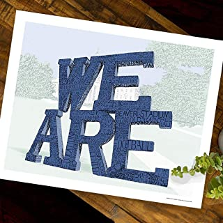 We are Word Art Poster Print - Dorm Poster - Great Gift - 16