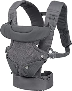 Infantino FLIP Advanced 4-in-1 convertible baby carrier|facing-in (narrow seat), facing-in (wide seat), facing-out and bac...
