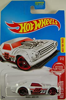 2017 Hot Wheels Red Edition 7/12 - Night Shifter [White] - Only at Target!