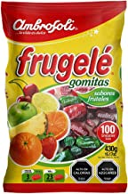 Frugele Ambrosoli Fruit Candy From Chile Traditional Chilean Gomitas 2 Bags x 100 Pieces