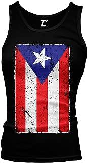 Distressed Puerto Rico Flag - Rican Latino Juniors Tank Top