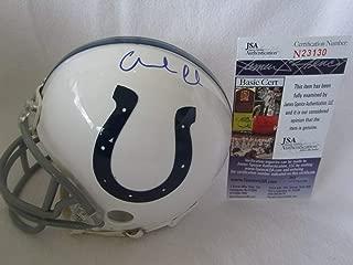 Andrew Luck Autographed Signed Memorabilia Indianapolis Colts Mini Helmet ? JSA Cert