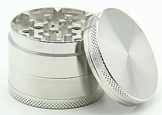 MRTN Premium Grinder Crusher kruidenmolen kruidenmolen | Set 4 stuks | Ø 5cm | tabak, pollen, kruiden, koffie, specerijen,...