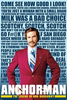Anchorman - Quotes Movie Poster