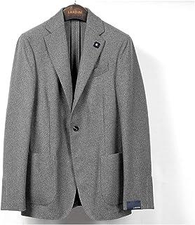 ラルディーニ LARDINI / 【国内正規品】 / 20-21AW!カシミヤフランネル3Bジャケット「JS903AQ(EASY)」 (グレー) メンズ