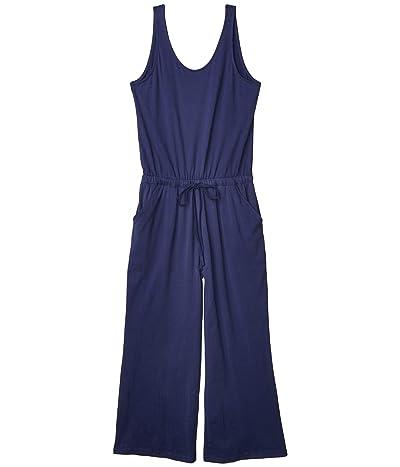 PACT Organic Cotton Jumpsuit (Midnight Navy) Women