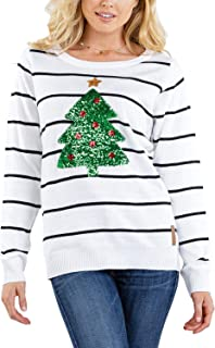 Best sequin christmas tree sweater Reviews