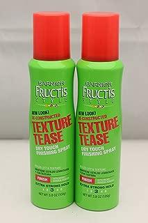 Garnier Fructis De-Constructed Texture Tease Hairspray-3.8 oz (Pack of 2)